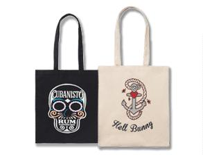 Overprinted Bags