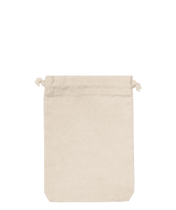 5oz Natural Cotton Pouch