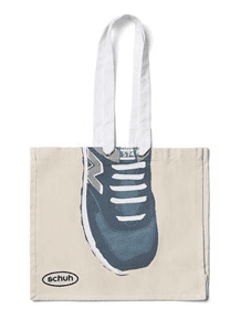 canvas bag schuh