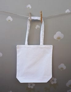 8oz Cotton White Bag