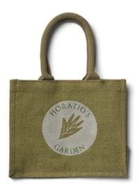 Horatios bespoke jute bags