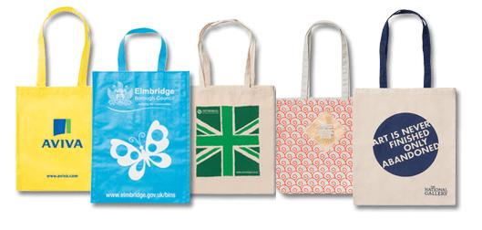 printed eco fabric bags