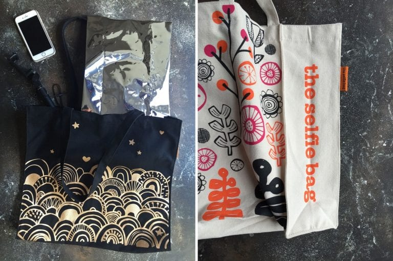 Things I Learnt In February : Selfie Bag from The Cotton Bag Co