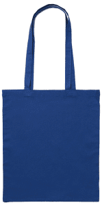 Dark Blue Cotton Bag