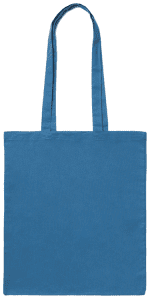 Light Blue Cotton Bag