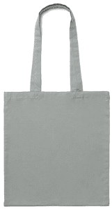 Light Grey Cotton Bag