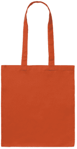 Orange Cotton Bag