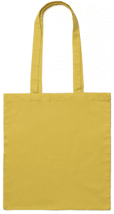 Yellow Cotton Bag